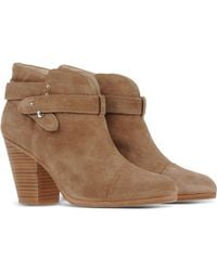 Rag & Bone | Harrow Suede Ankle Boots | Lyst