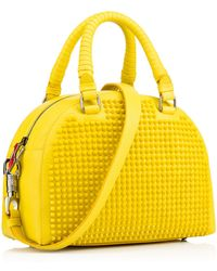 Christian Louboutin Yellow Panettone Small - Lyst
