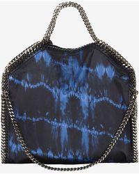 Stella McCartney 3 Chain Printed Tote Blue - Lyst