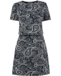 Oasis | Paisley Jacquard Dress | Lyst