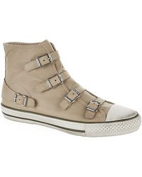 Kurt Geiger Lizzy Hitop Trainers - Lyst