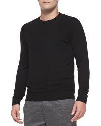 Theory Cashmere Dermont Crewneck Sweater - Lyst