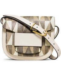 Tory Burch Crescent Printed Small Cross-Body - Lyst