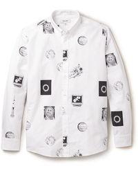 Soulland White Fischer Shirt - Lyst