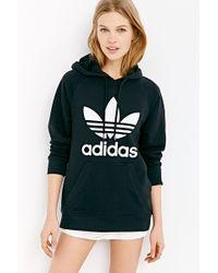 Adidas Originals Trefoil Hooded Sweatshirt - Lyst