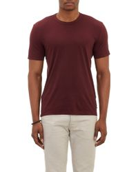 James Perse Crewneck Tshirt - Lyst