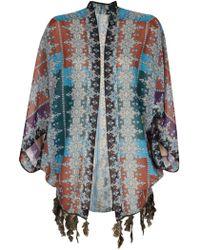 Anna Sui Arabian Nights Kimono multicolor - Lyst