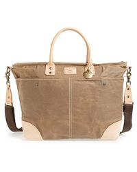 Will Leather Goods - Coated Canvas Tote - Lyst