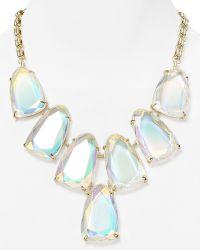 Kendra Scott - Harlow Iridescent Necklace 18 - Lyst