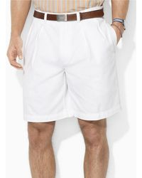 Polo Ralph Lauren Vintage Chino Pleated Tyler Shorts - Lyst