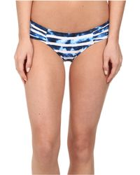 Seafolly Inked Stripe Ruched Side Pants - Lyst
