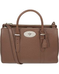 Mulberry Bayswater Small Double Zip Tote - Lyst