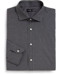 Ralph Lauren Black Label Classic-Fit Windowpane Dress Shirt - Lyst