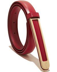 Ferragamo Sized Belt - Lyst