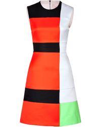 Roksanda Ilincic Colorblock Arlington Dress - Lyst