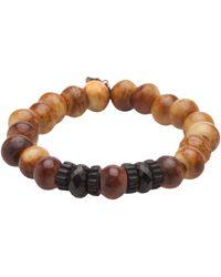 Ocnarf Sairutsa - Tibetan Buffalo Bone Bracelet - Lyst