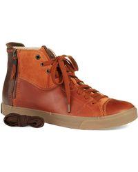 Diesel Zippy Hitop Sneakers - Lyst
