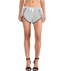 Finders Keepers Black Sleepsong Shorts - Lyst