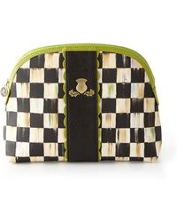 Mackenzie-Childs - Courtly Check Cosmetic Bag - Lyst
