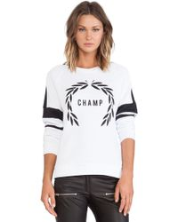 Zoe Karssen Champ Sweatshirt - Lyst