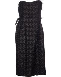Gucci Knee-Length Dress - Lyst