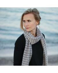 Anna Söderström - Sårk Scarf Clay & Silver - Lyst