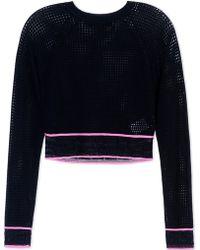 Versace | Long Sleeve Sweater | Lyst
