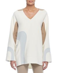 Marc Jacobs Longsleeve Fleece Sweatshirt - Lyst