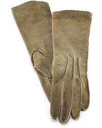 Ralph Lauren Deerskin Mid-length Gloves - Lyst