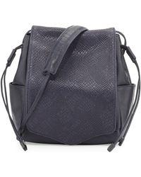 L.A.M.B. - Edria Leather Bucket Bag - Lyst