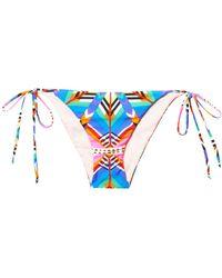 Mara Hoffman Kites-Print Bikini Briefs - Lyst