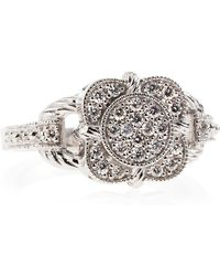 Charriol | Flower Diamond Pave Ring | Lyst