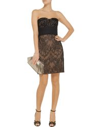 Notte By Marchesa Embellished Lace Dress - Lyst