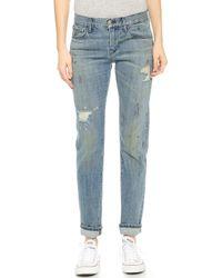 3x1 W2 Selvedge Boyfriend Jeans  - Lyst
