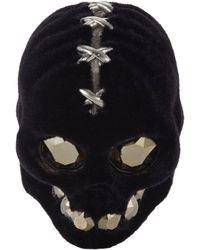 Alexander McQueen Corset Skull Ring - Lyst