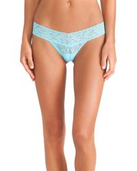 Hanky Panky Low Rise Thong - Lyst