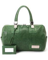 Balenciaga Green Pre-owned Handbag - Lyst