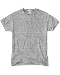 Todd Snyder X Champion Classic Crew T-Shirt In Antique Grey gray - Lyst