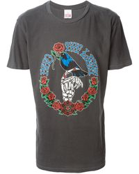 Obey Printed T-shirt - Lyst
