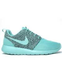 Nike Roshe Run Safari Crystal Mint - Lyst