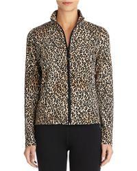 Jones New York Leopard Printed Jacket - Lyst