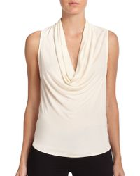 Ramy Brook Laurie Draped Top - Lyst