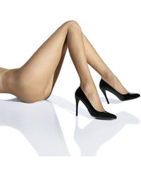 Wolford Beige Naked Tights - Lyst