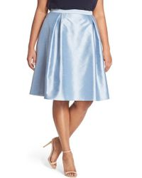 Adrianna Papell - Shantung Party Skirt - Lyst