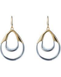 Alexis Bittar | Open Drop Wire Earring | Lyst