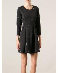 Sonia By Sonia Rykiel Gemstone Detail Dress - Lyst