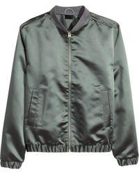 H&M Bomber Jacket - Lyst