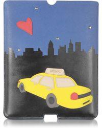 DKNY - Bryant Park Saffiano Leather Ipad Sleeve - Lyst