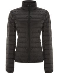 Armani Jeans Short Padded Jacket - Lyst