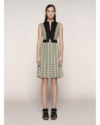 Proenza Schouler Sleeveless Pleated Dress - Lyst